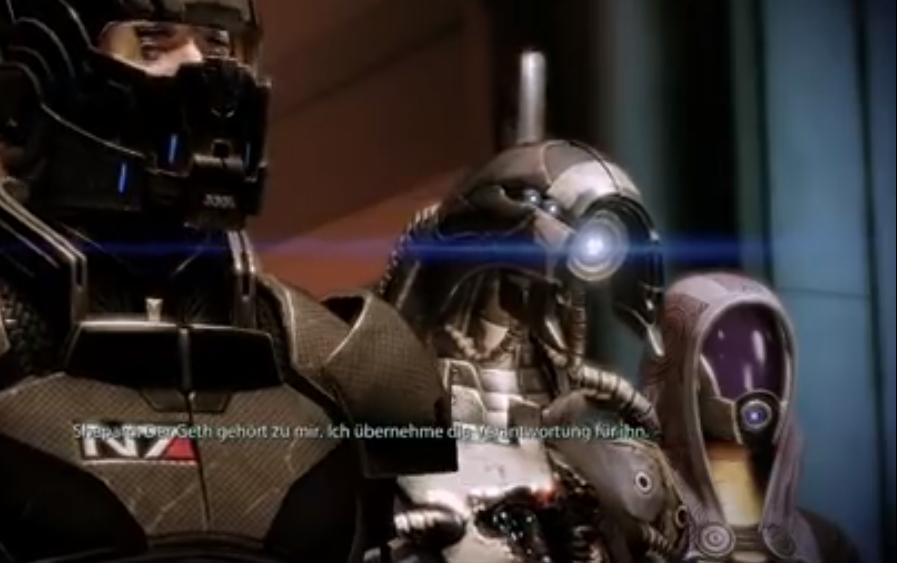 Shepard, Legion, Tali