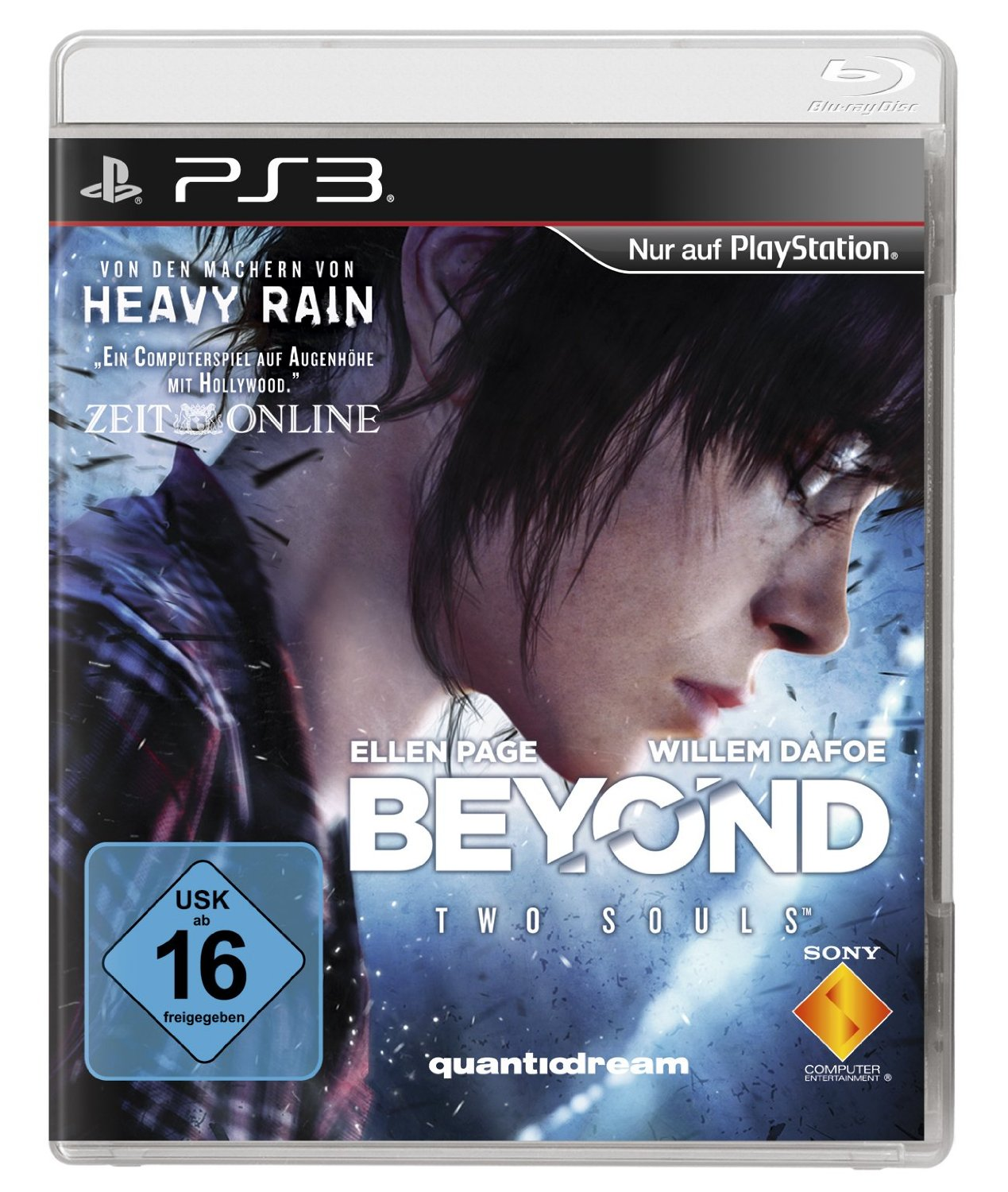Das Cover von Beyond: Two Souls
