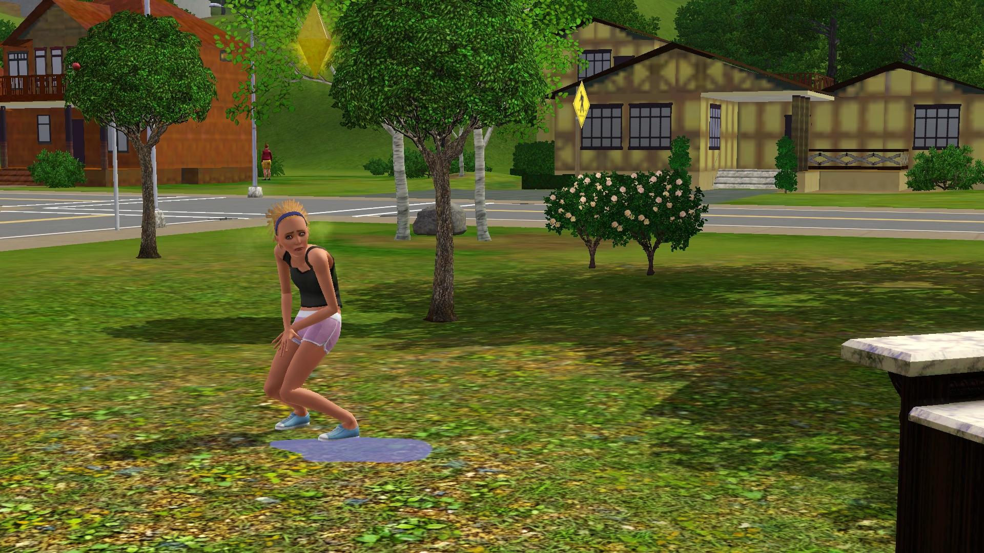 Unglücklicher Sim in The Sims 3