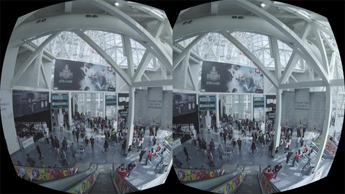 Abb.2: Zero Point Blick durch die Oculus Rift (©Danfung Dennis, Quelle: http://www.conditionone.com/).