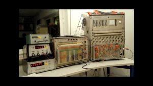 : Analogcomputer mit Lunar Lander (Foto: Bernd Ulmann)