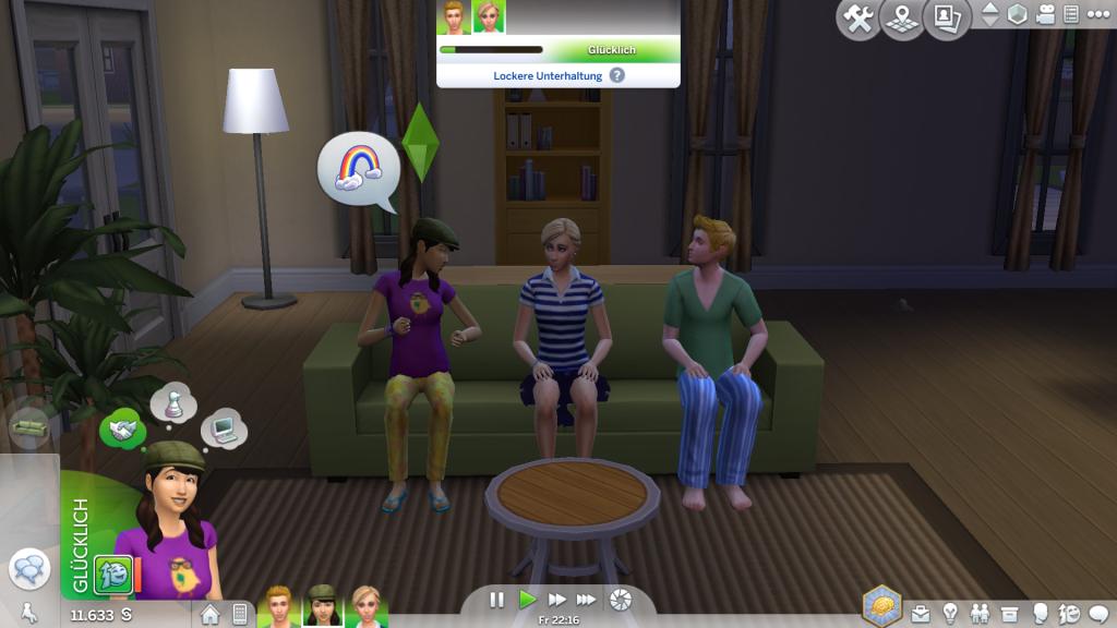 Bild 1: Screenshot Sims 4