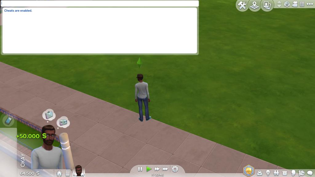 Bild 2: Screenshot Sims 4