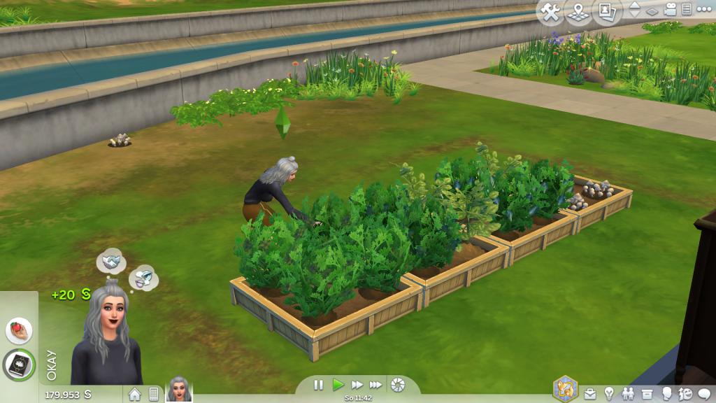 Bild 3: Screenshot Sims 4